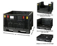 COLLAPSIBLE BULK BOX & OPTIONAL LID